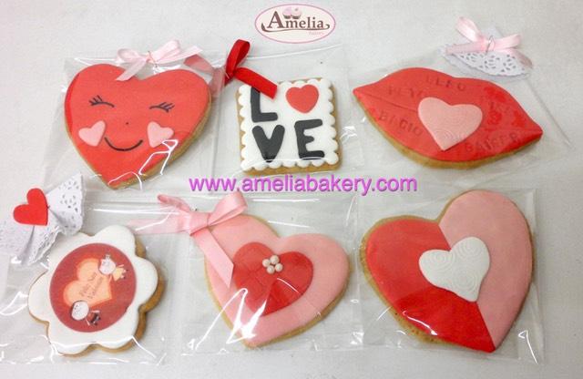 Galletas San Valentin Decoradas Fondant